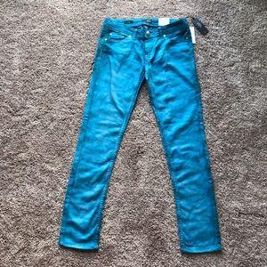 a.n.a Skinny Low Rise Blue Pants 28/6 NWT